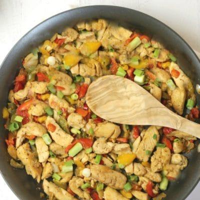 30 Minute Chicken Fajitas