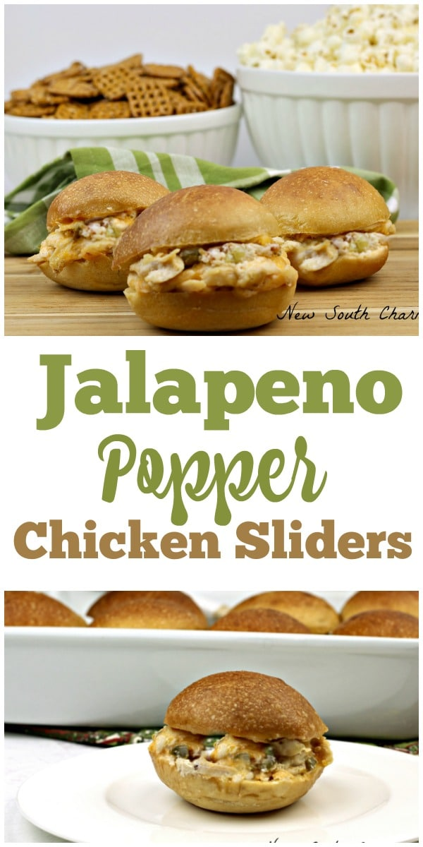 Jalapeño Popper Chicken Sliders are the perfect for food enjoying at your next tailgate party. They are packed with meaty, cheesy, gooey goodness with a pop of heat that sends these over the top.