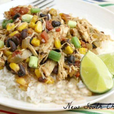 Slow Cooker Southwestern Chicken