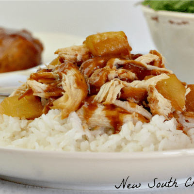 Slow Cooker Sweet and Sour Barbecue Chicken