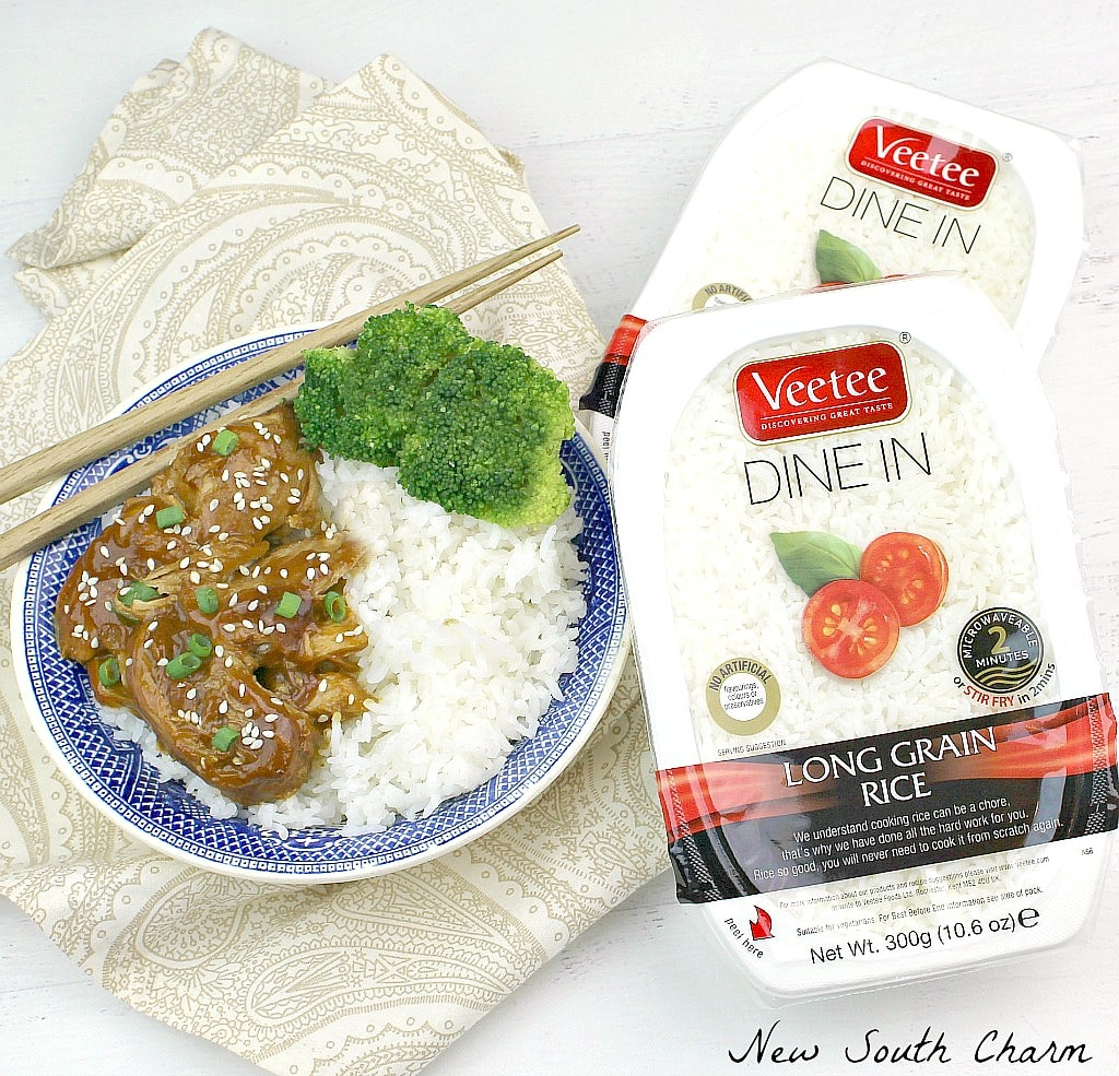 Today I'm Partnering With Veetee Rice To Bring You An Easy And Healthy Slow