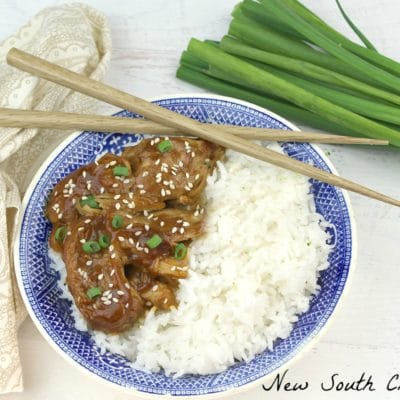 Slow Cooker Teriyaki Chicken and Rice