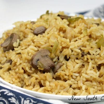 Spicy Mushroom Fried Rice
