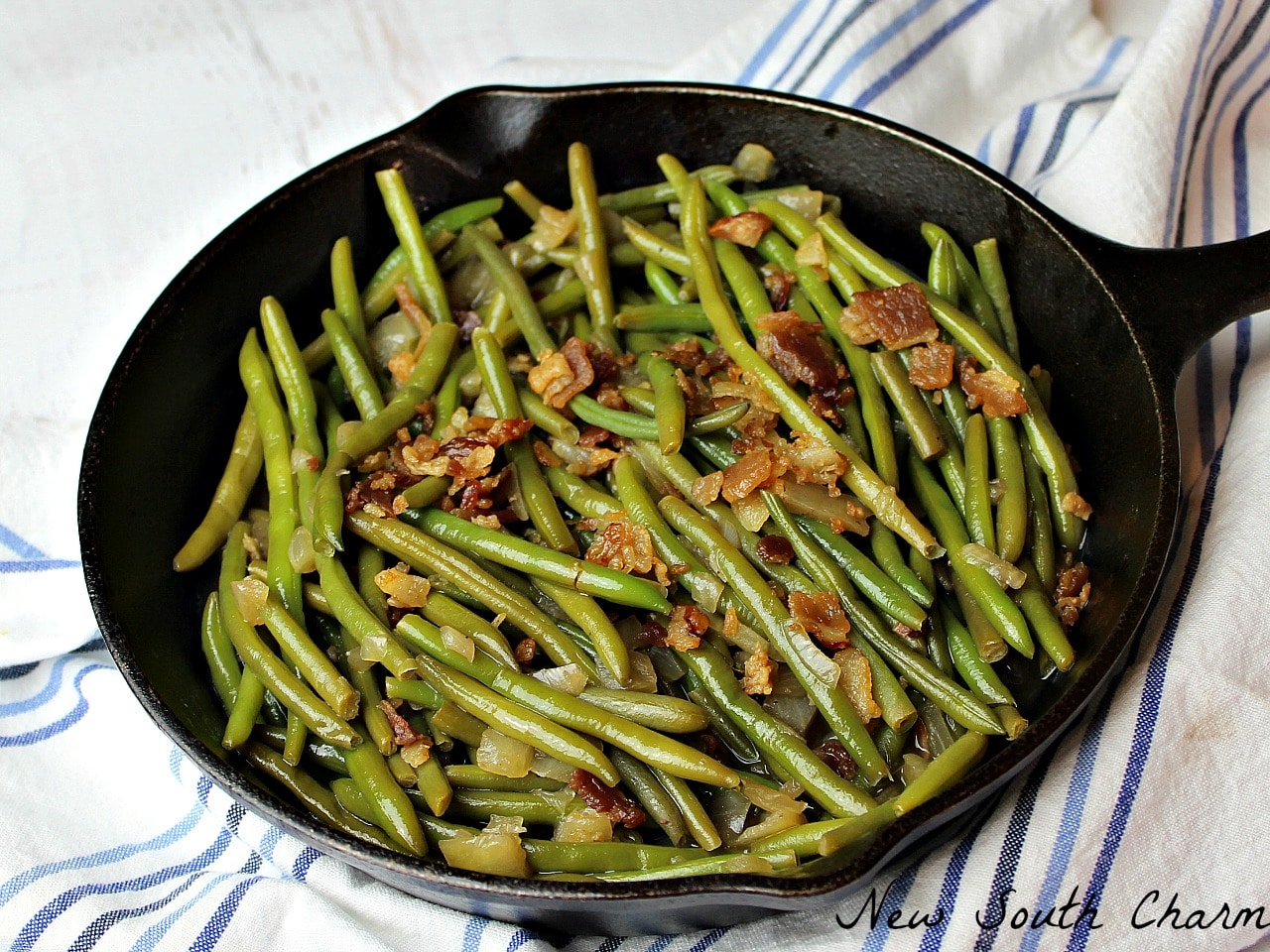 steakhouse green beans