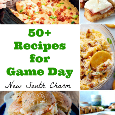 50+ Recipes for Game Day