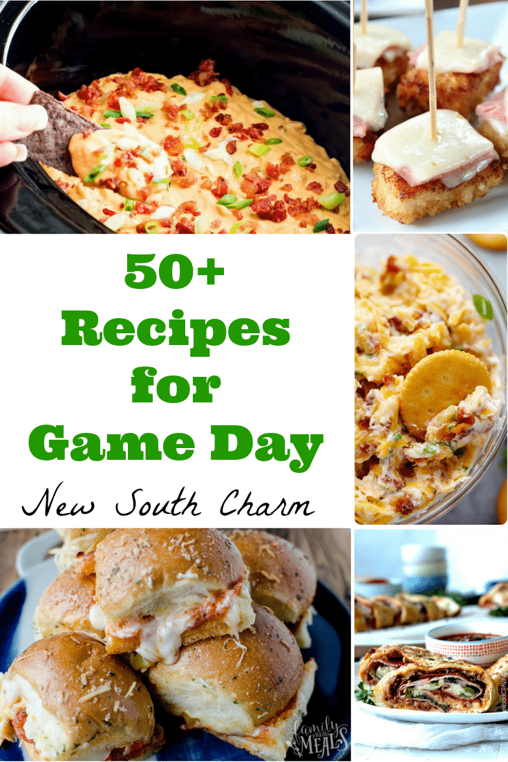 More than 50 recipes for you next football tailgate or Super Bowl watch party.