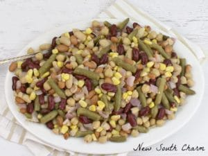 Five Bean Salad  with White Wine Vinaigrette