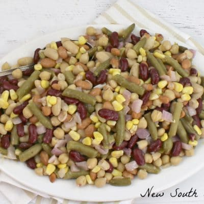 Five Bean Salad  with White Wine Vinaigrette