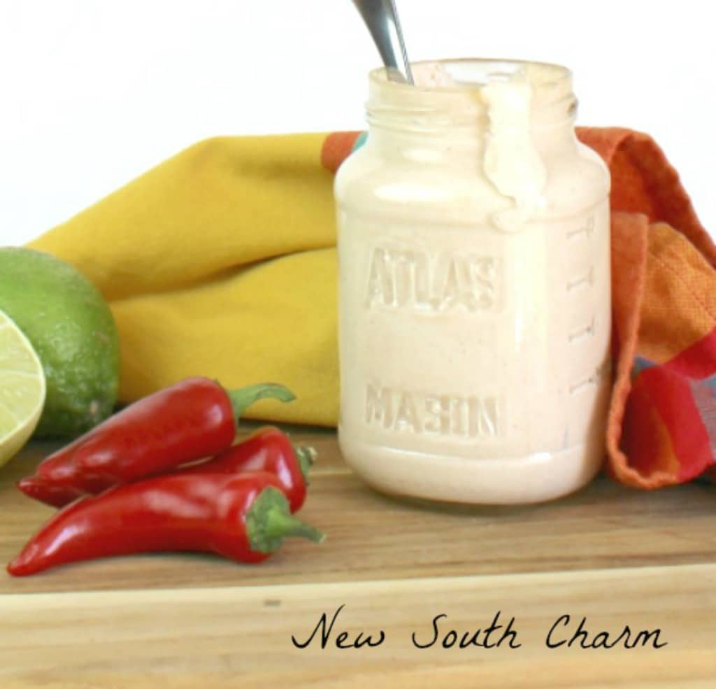 chipotle lime dressing