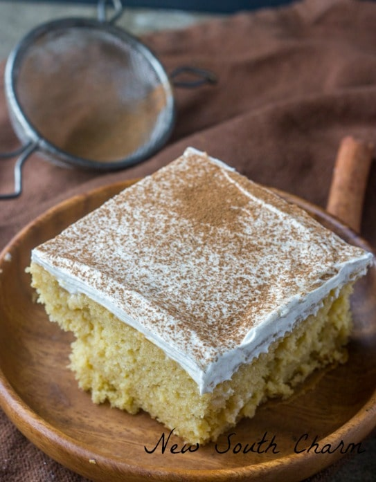 Snickerdoodle Poke Cake New South Charm