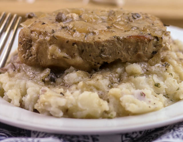 Crock Pot Smothered Pork Chops