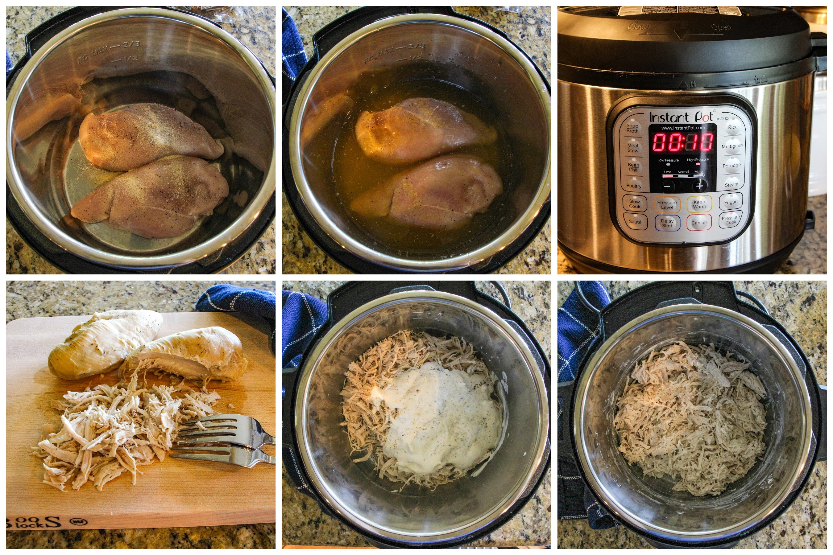 Photos showing the step by step directions for this recipe.