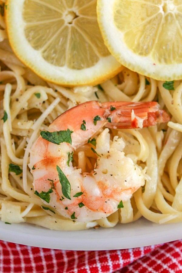 Lemon Garlic Parmesan Shrimp