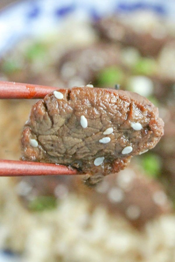 Teriyaki Steak Bites Recipe