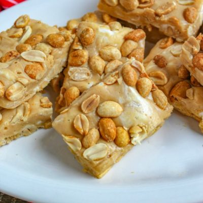 Salted Peanut Roll Bars