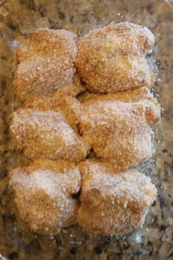 Garlic Parmesan Chicken Thighs