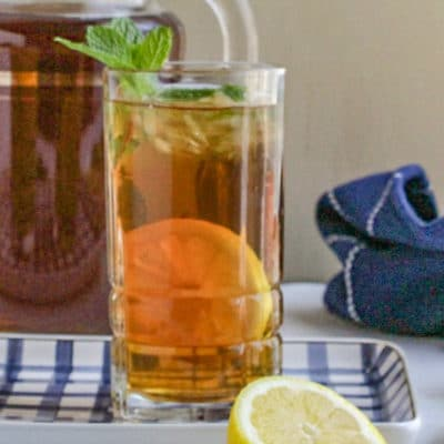 Sweet Iced Tea (Southern Style)