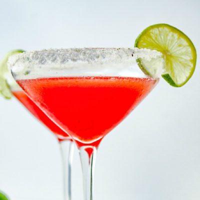 Cherry Lime Margaritas