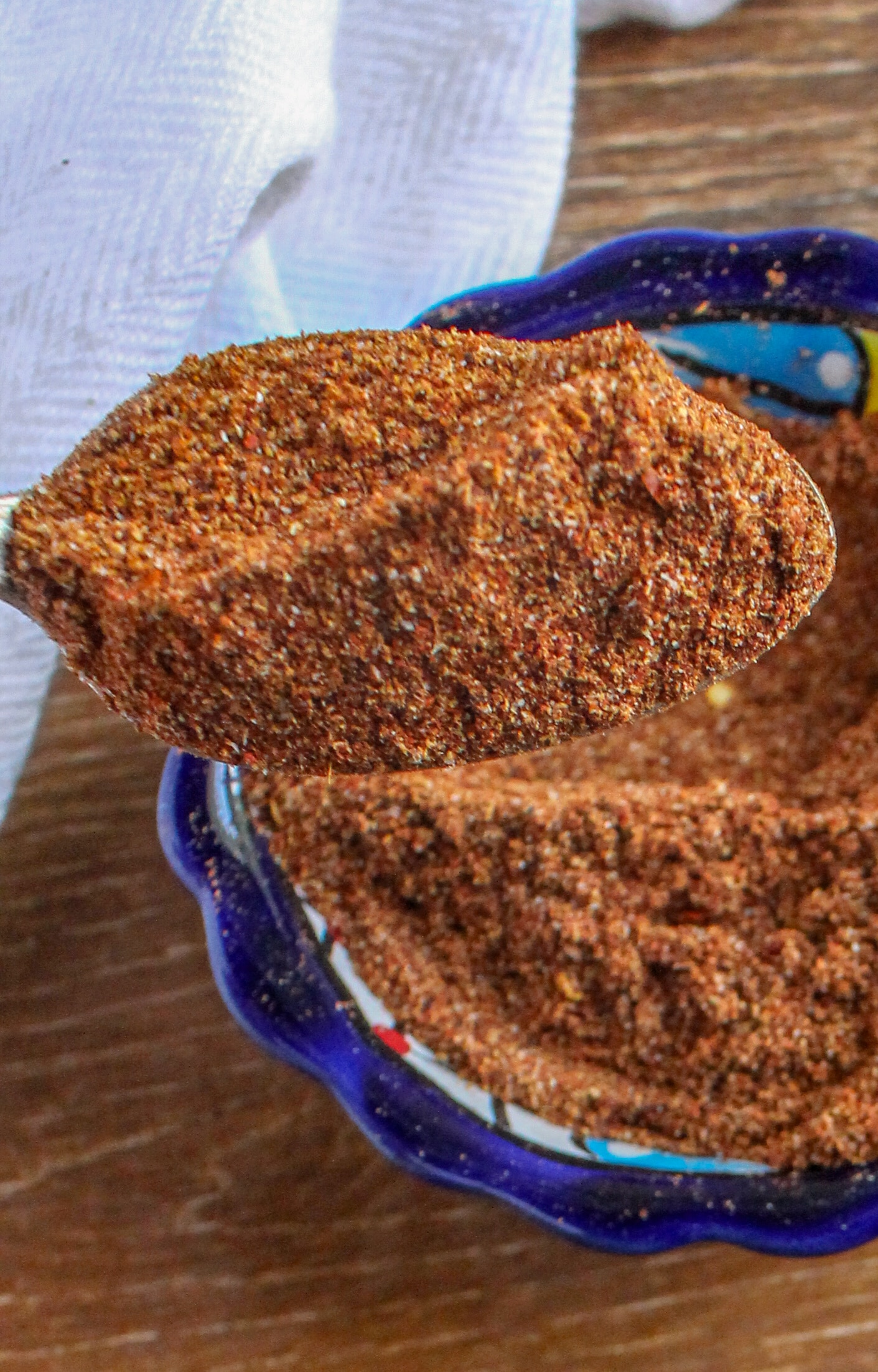 Spoonful of Homemade Taco Seasoning